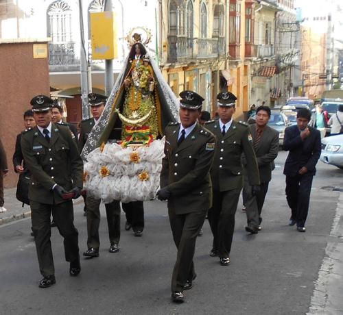 Visita VirgenCopa