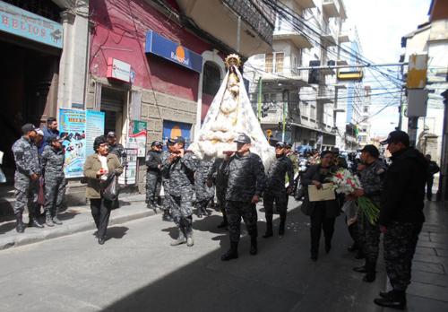 Visita Virgen